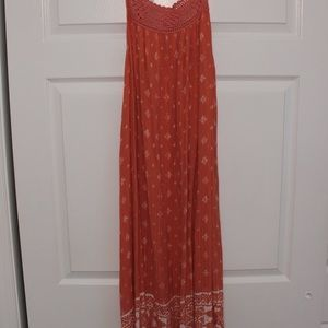 New Ripcurl South Wind Border Orange Dress (M)